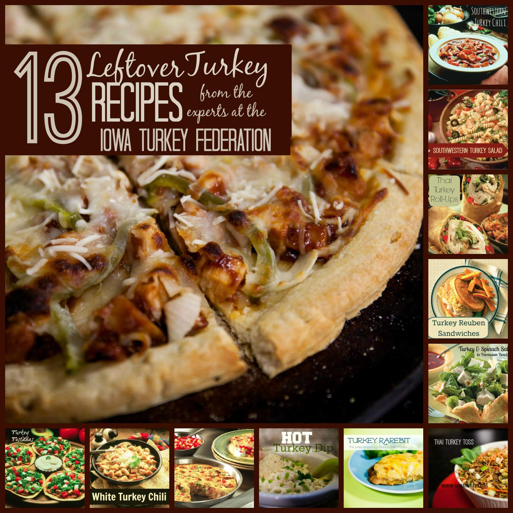 Let s talk turkey how d that get on my thanksgiving plate for Leftover thanksgiving turkey recipes