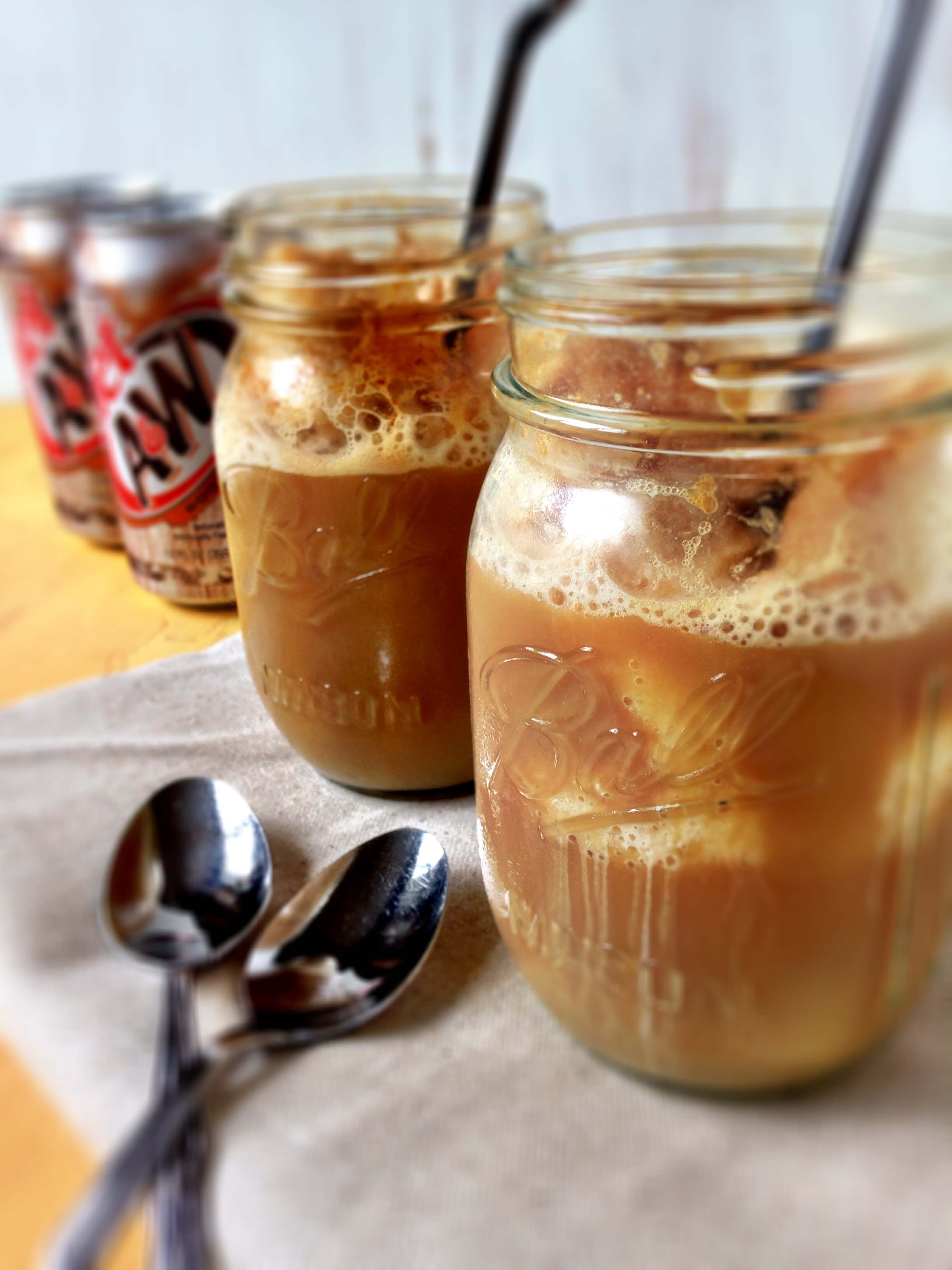 Healthier Root Beer Floats