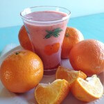 Clementine Strawberry Smoothies