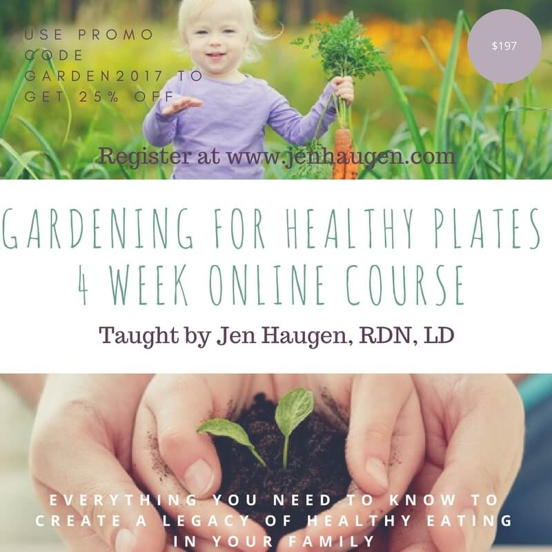 zesty gardening for a healthy plate virtual course