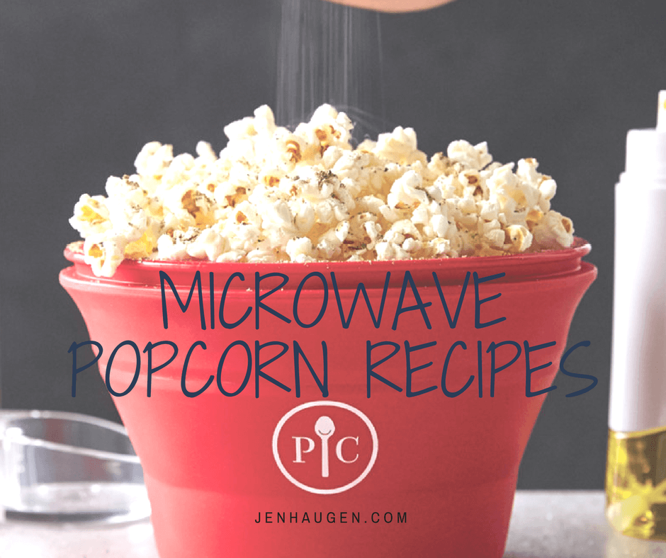 Microwave Popcorn Maker Recipes