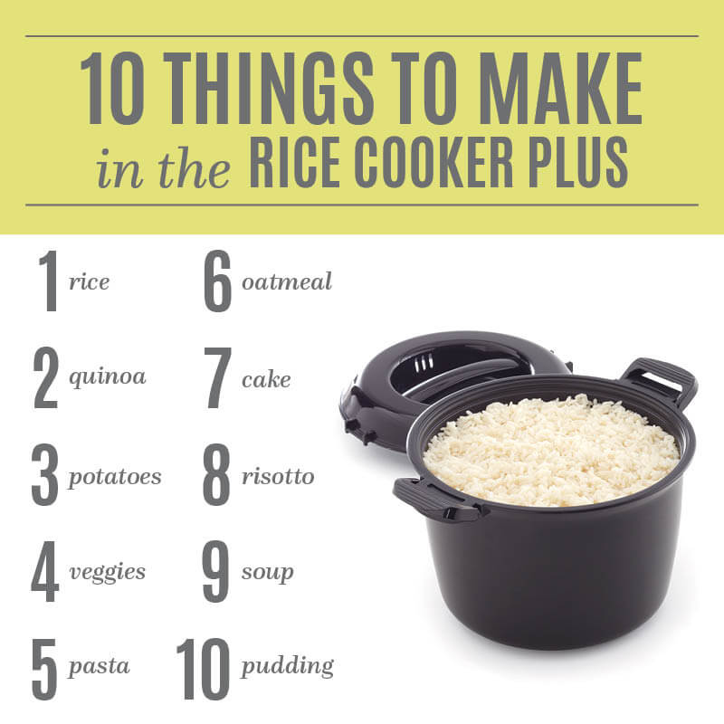 Rice Cooker Plus Ideas